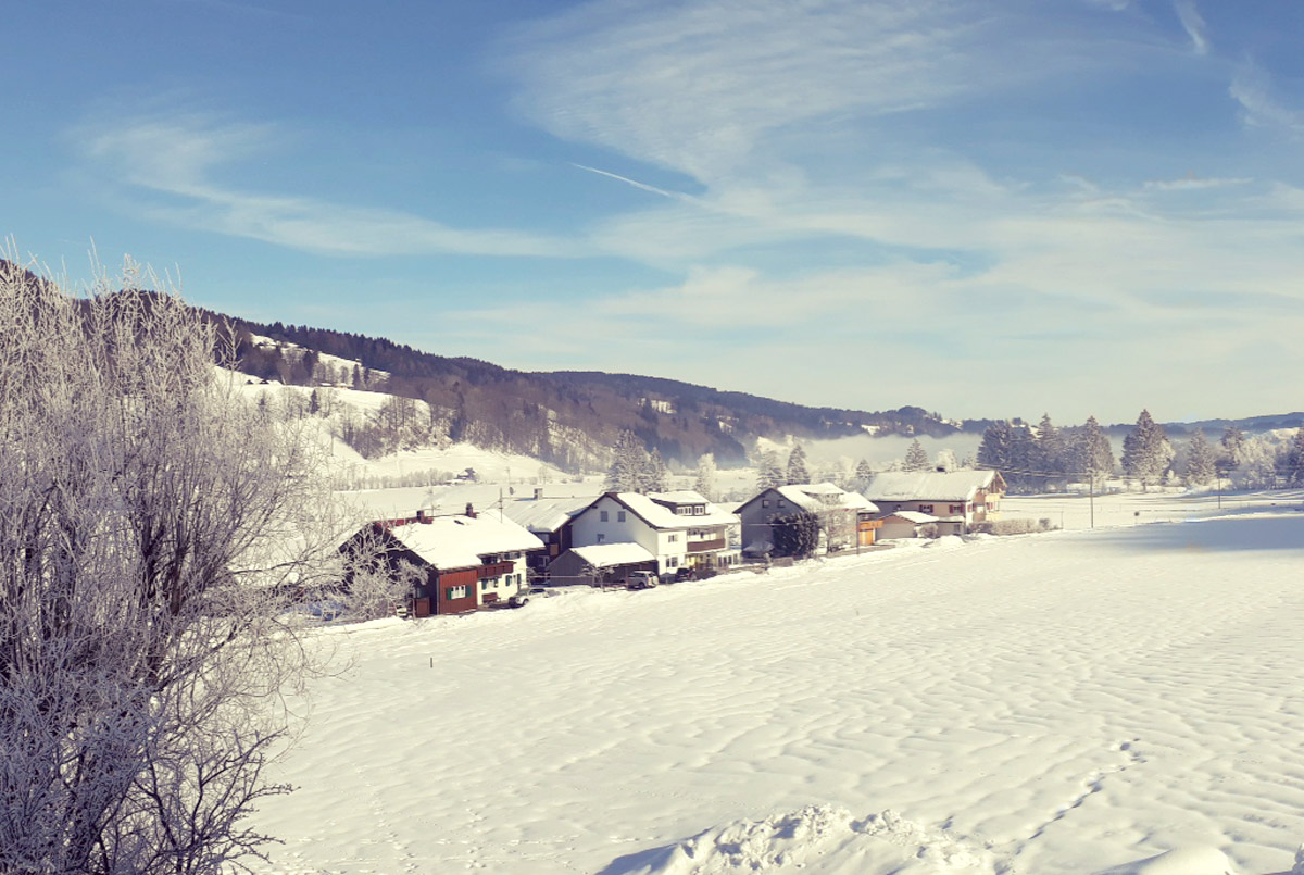 Winterlandschaft Ratholz